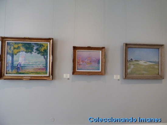 Cuadros impresionistas en el Hermitage