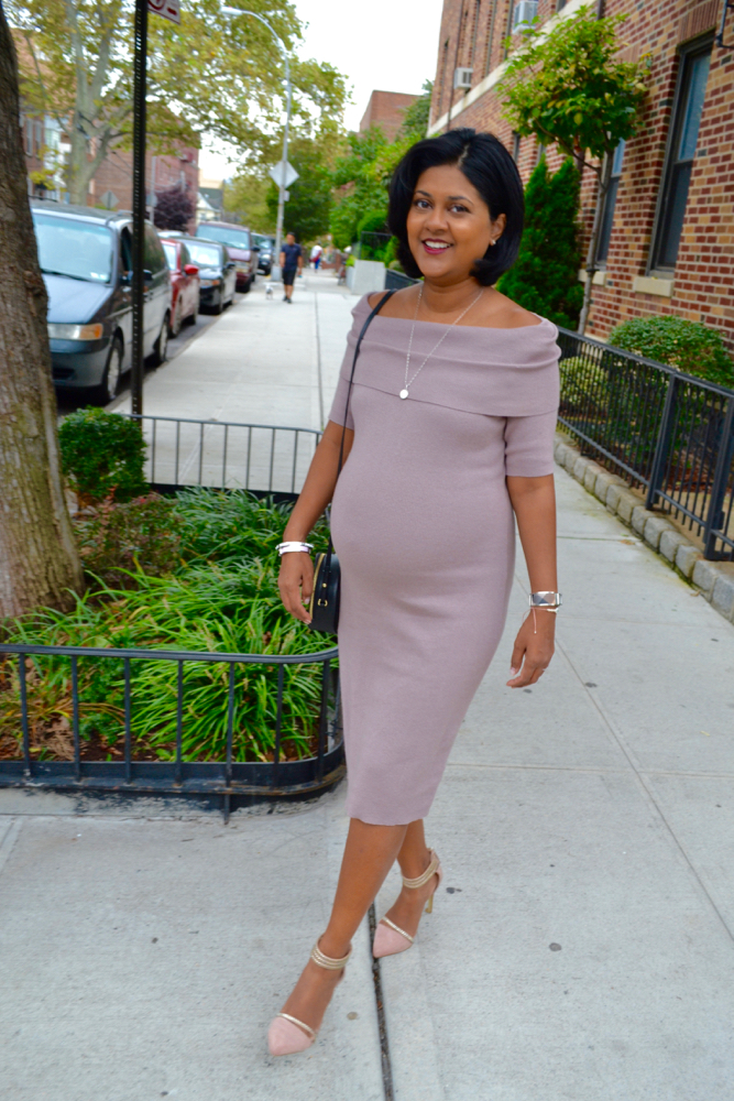 Maternity style 8 months pregnant