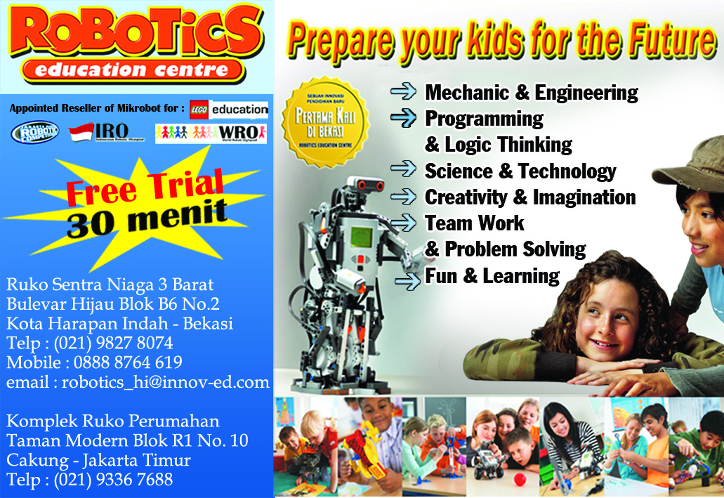 Ndah Seputar Harapan Indah Robotics Education Center Harapan I