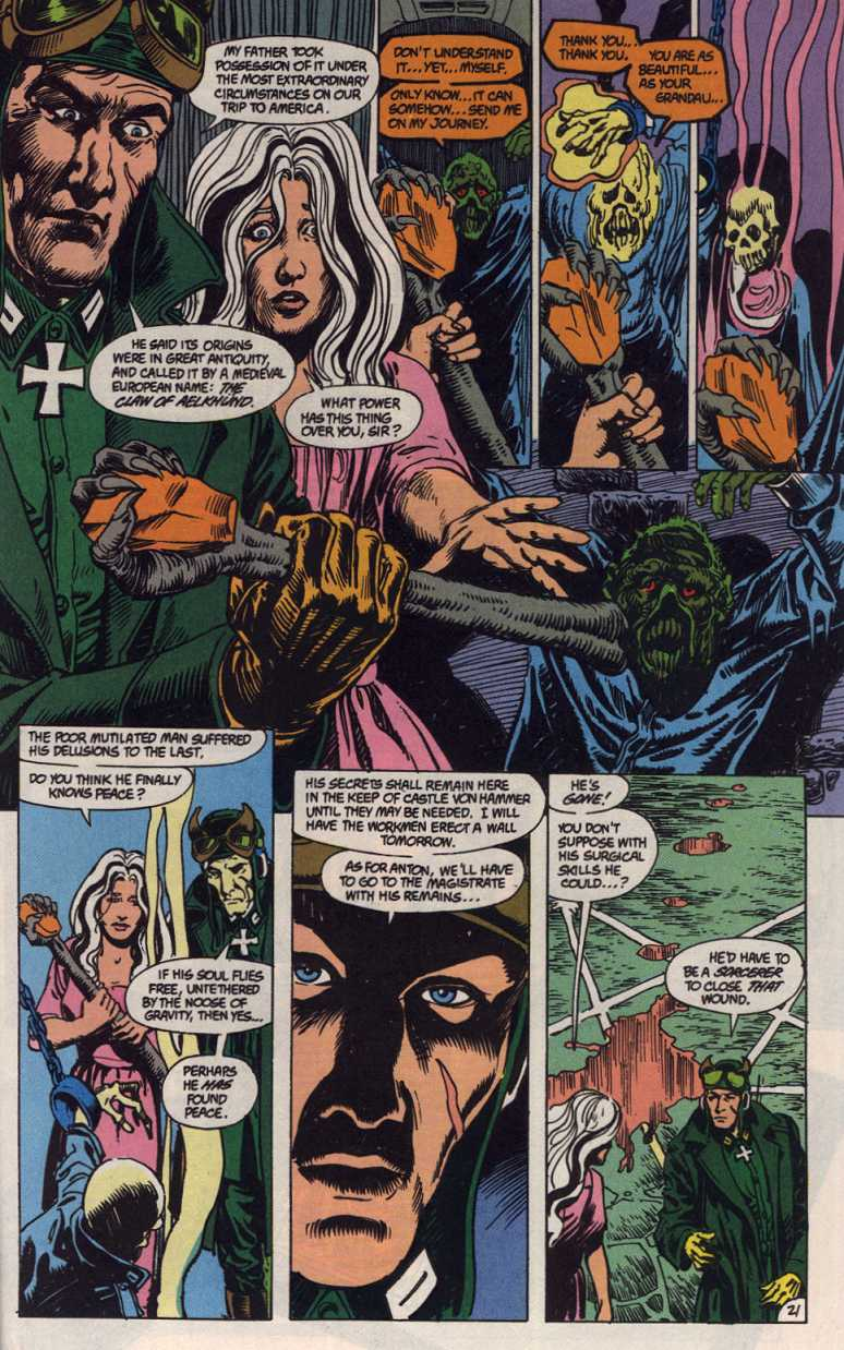 Swamp Thing (1982) Issue #83 #91 - English 21