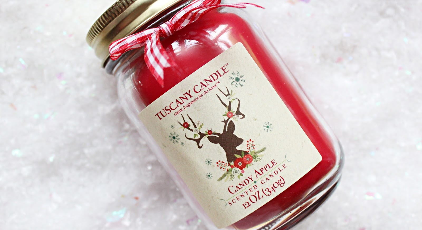 Tuscany Candle Candy Apple Candle