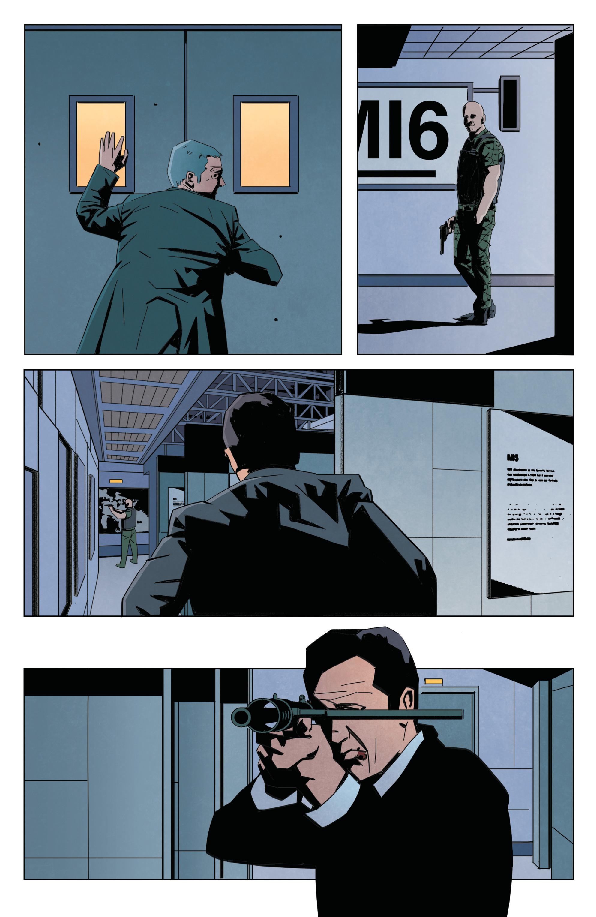 Read online James Bond: Service comic -  Issue # Full - 35