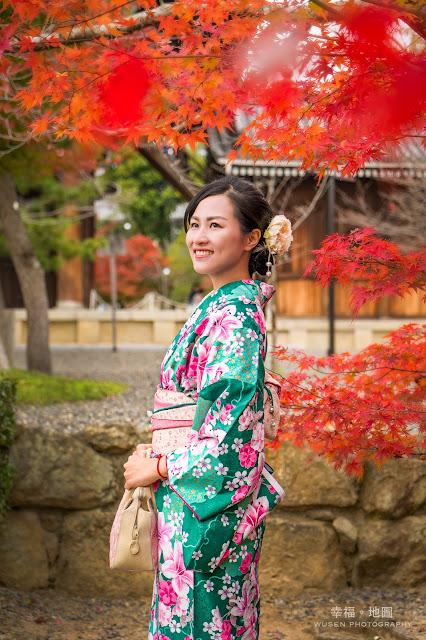 楓葉季, 和服寫真