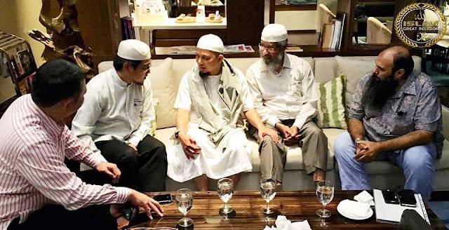 Inilah Pengakuan Mengagumkan KH M Arifin Ilham Setelah Bertemu Dr Zakir Naik