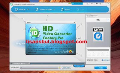 WonderFox HD Video Converter Factory Pro full license key