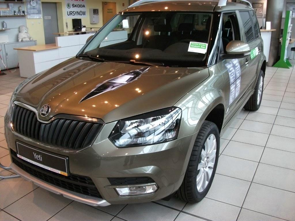 one serwis motoelektroniki: SKODA YETI Nowy model SUV-a 4 X 4