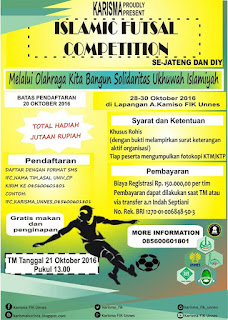 Islamic Futsal Competition (IFC) se-Jateng dan DIY