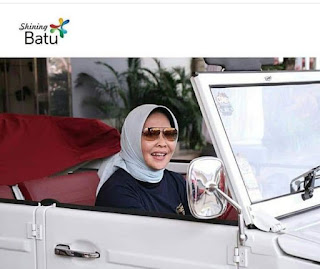 IBU DEWANTI..WALIKOTA BATU ..TEST DRIVE VW SAFARI...