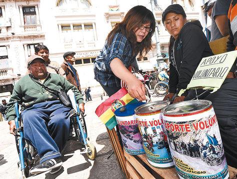 Movilizaciones en Bolivia