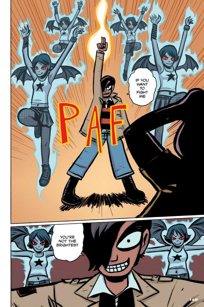 Read online Scott Pilgrim comic -  Issue #1 - 136