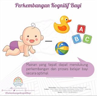 Mainan sebagai Media untuk Mengembangkan Kemampuan Kognitif Bayi (0-6bulan)