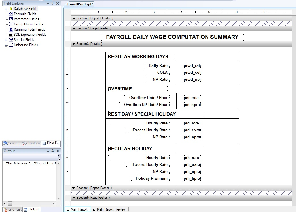Visual Basic Net Online Programming: Using Crystal Reports