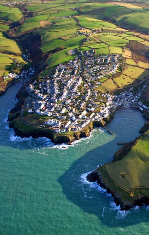 Port Isaac, North Cornwall, England, UK: