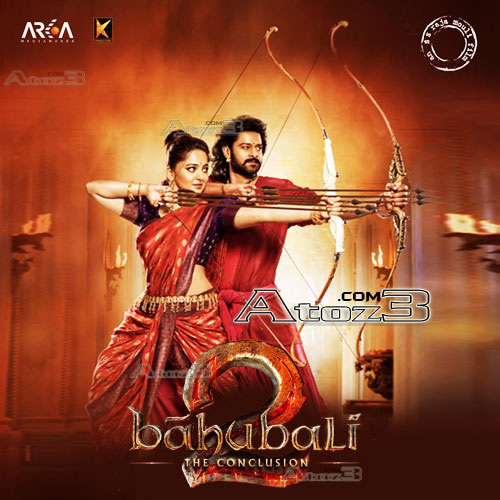 baahubali 2 telugu Movie Audio CD Front Covers, Posters, Pictures, Pics, Images, Photos, Wallpapers