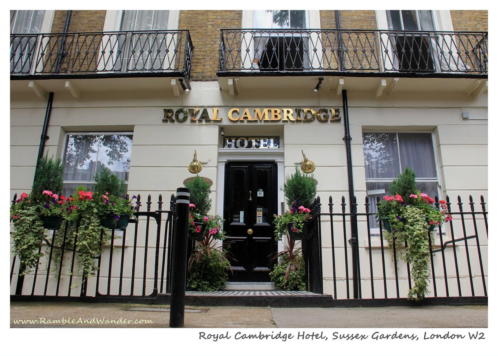During My Recent Visit To London I Stayed At Two Diffe Hotels Namely Royal Cambridge Hotel And Best Western The Delmere Both Located In Sus