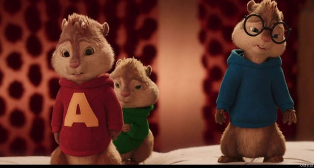 Alvin y las Ardillas: Fiesta sobre Ruedas (2015) HD 1080p Latino
