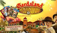 Logo Vinci gratis 20 carnet ingressi Gardaland e weekend Vip x 4
