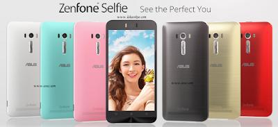 Asus Zenfone Selfie Hadirkan Kamera Selfie 13 Megapixel