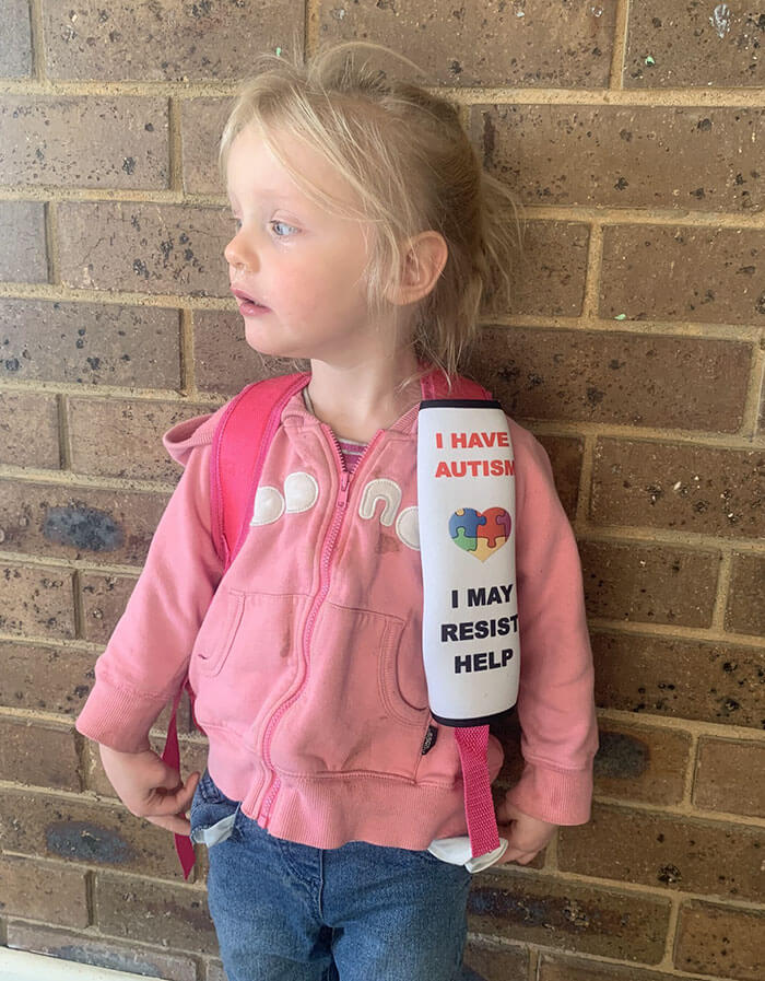 Australian Mom Created Seat Belt Covers That Warn Emergency Workers About Kids' Health Issues