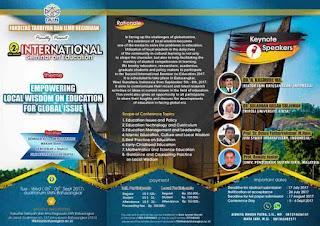 INTERNATIONAL SEMINAR ON EDUCATION
