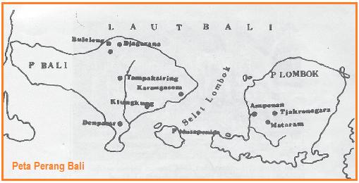 Peta Perang Bali