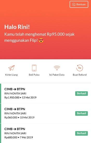 Pengalaman Pakai FLIP : Aplikasi Transfer Uang Ke Bank Lain Tanpa Biaya Transfer (Kelebihan Dan Kekurangan)
