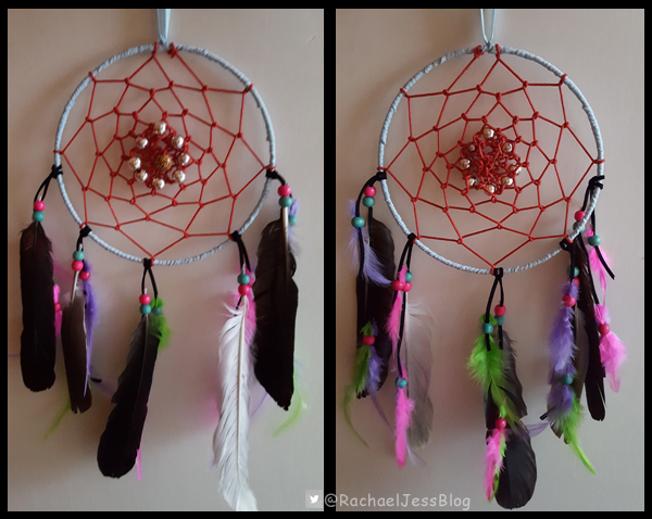making our own dream catcher