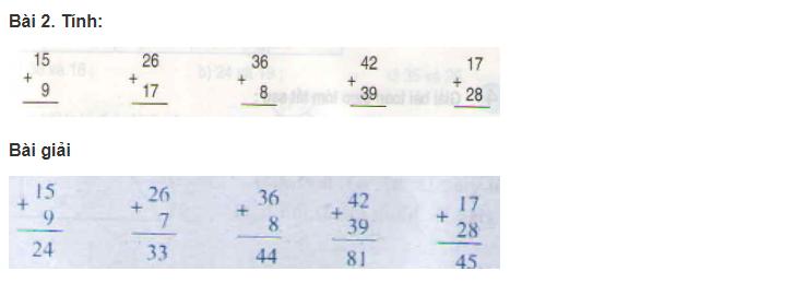 giai bai tap sach giao khoa toan 2 trang 38