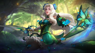 Download Script Skin Odette - Butterfly Goddess (Mobile Legend)