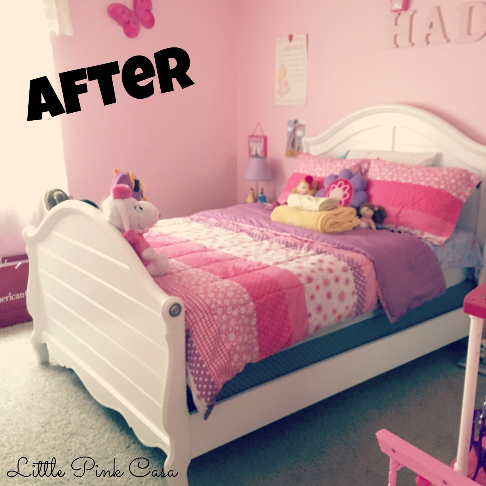 Big Girl Beds Hadaras New Big Girl Bed Little Pink Casa