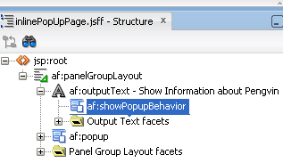 Use showPopupBehavior to show popup on mouse hover event