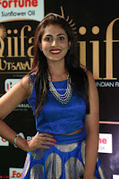 Madhu Shalini Looks Super Cute Slim trim Blue Choli Ghagra IIFA Utsavam Awards 030.JPG