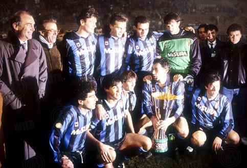 Copa da UEFA 1990-1991: Internazionale conquista a competição