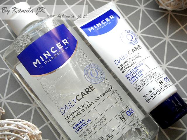 Mincer Pharma płyn micelarny rozświetlająca maska w kremie do twarzy Daily Care