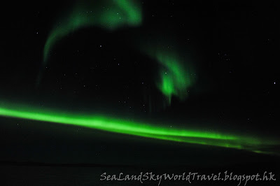 Hurtigruten郵輪上, 北極光, aurora, northern light