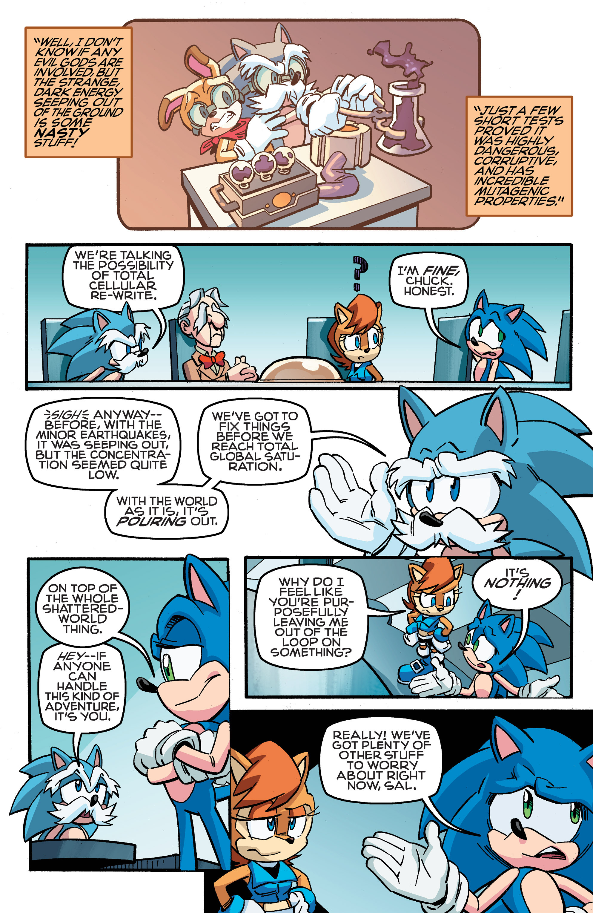 Read online Sonic The Hedgehog comic -  Issue #259 - 18