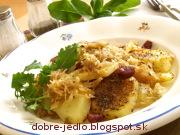 Kapustové zemiaky - recept