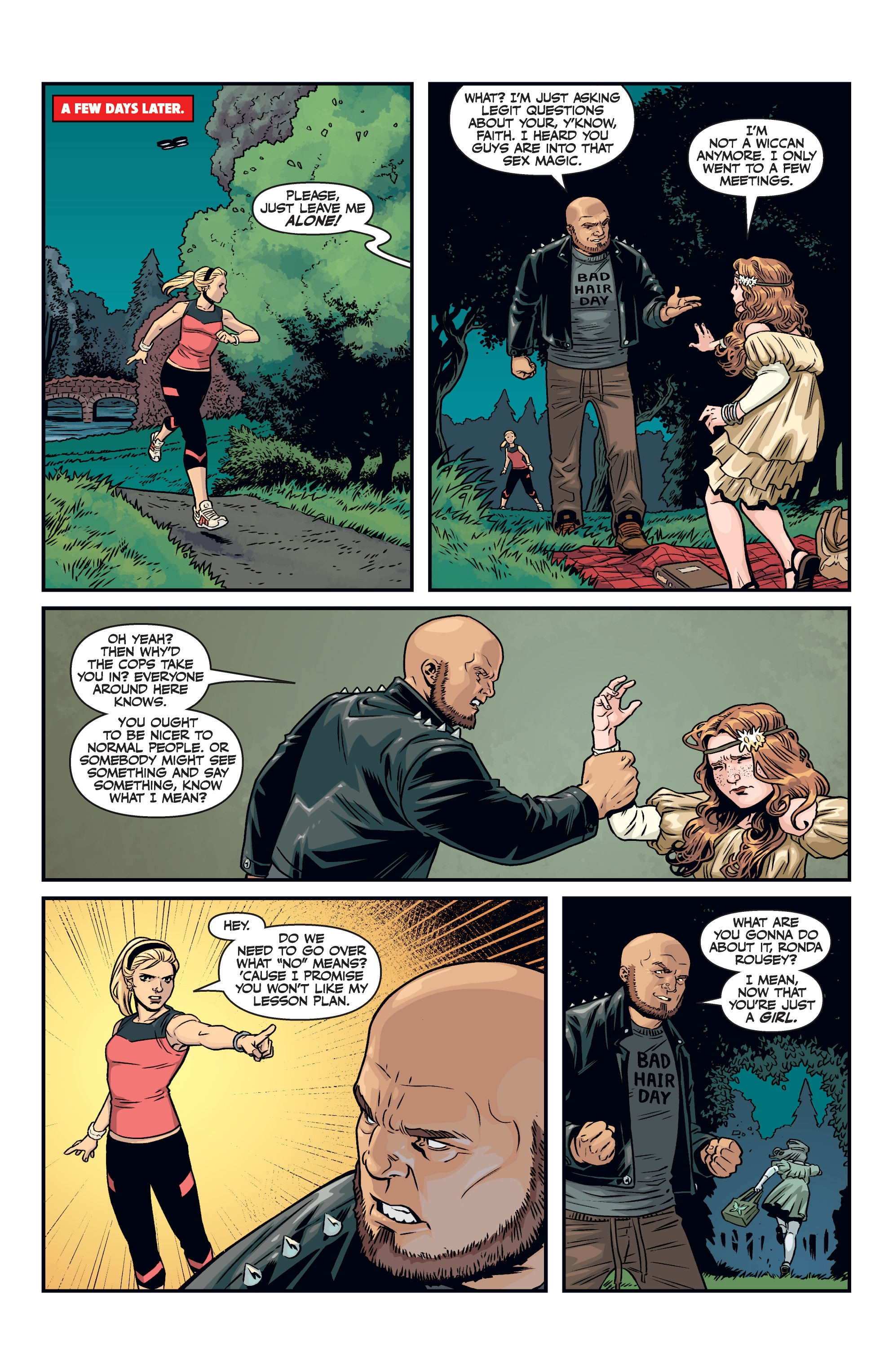 Read online Buffy the Vampire Slayer Season 11 comic -  Issue #8 - 6