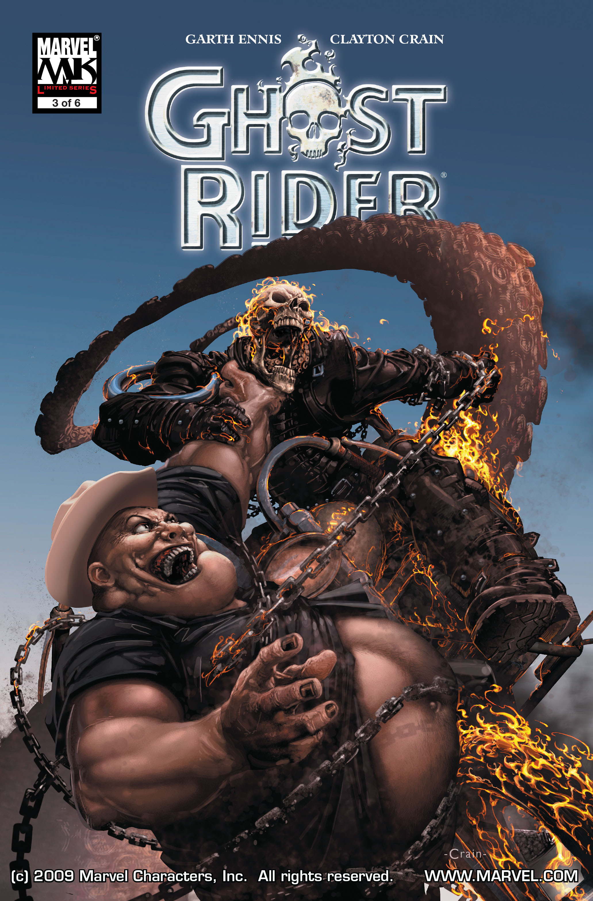 Ghost Rider (2005) Issue #3 #3 - English 1