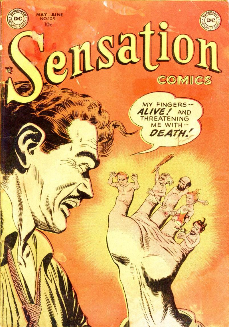Read online Sensation (Mystery) Comics comic -  Issue #109 - 1