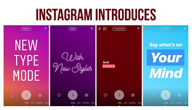 Instagram Introduces Type Mode for Text-Based Stories: eAskme