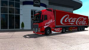 Coca-Cola Drink pack for Volvo 2012