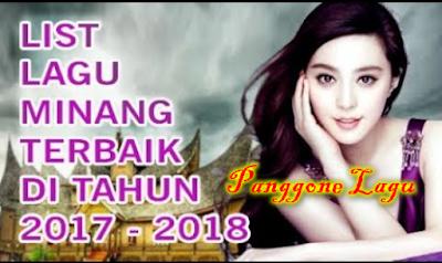Download Kumpulan Lagu Minang Mp3 Full Album Terbaru 2018 Paling