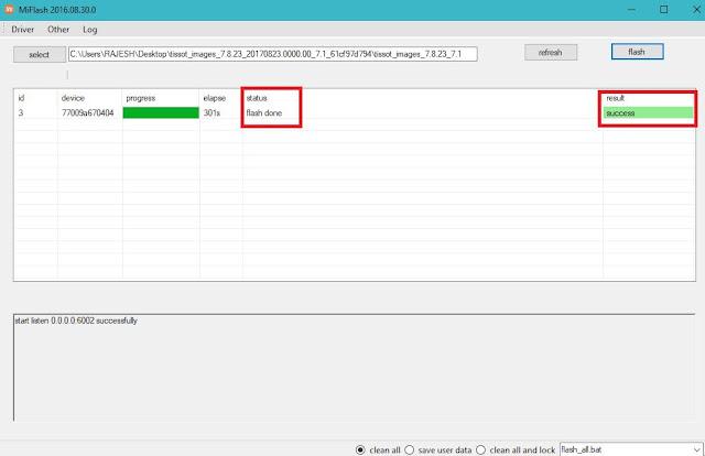 Cara Flash Xiaomi Mi A1 Untuk Memperbaiki Bootloop Atau Update ROM