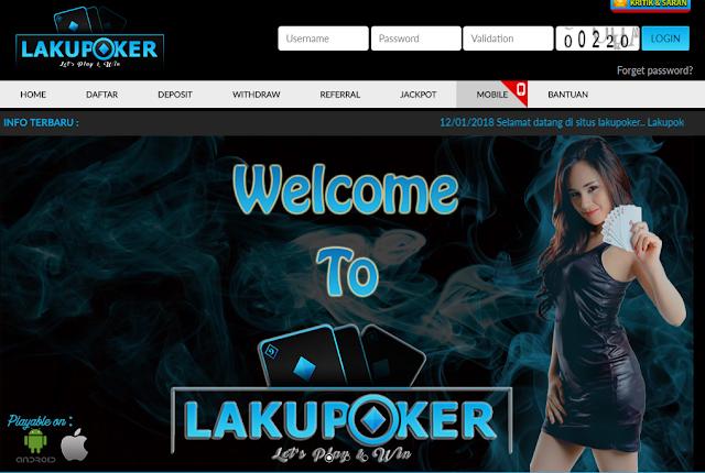 Lakupoker Situs Judi Poker Online Uang Asli Indonesia