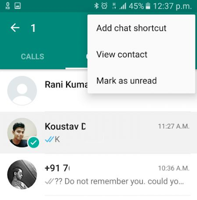 New 5 Whatsapp Features that you should know 2018