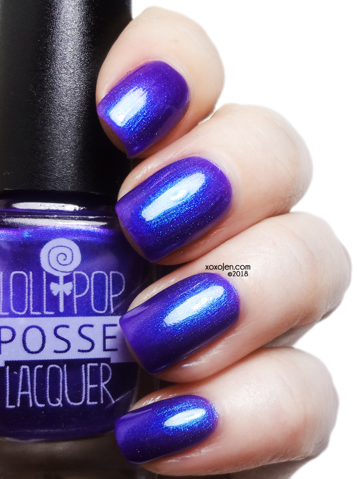 xoxoJen's swatch of Lollipop Posse Lacquer Degenerate Beauty Queens