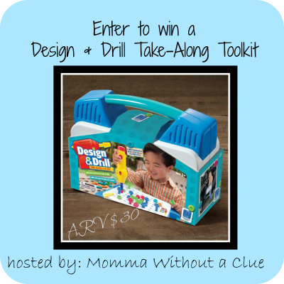 Design Drill Take Along Toolkit Giveaway Momma Without A Clue
