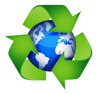 symbol for recycling and repurposing