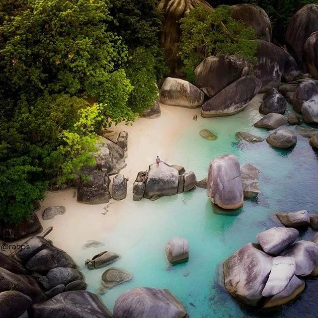 Pesona Pulau Belitung - Foto rahos